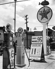 Gasoline station, Bronx